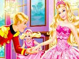 Барби на королевской вечеринке: скрытые буквы