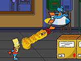 Барт Симпсон взрывает зомби