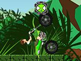 Бен 10: мотоцикл джунглей
