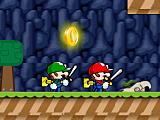Братья Марио спасают принцессу