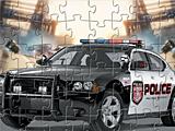 Полицейская машина - пазл