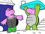 Раскраски: черепахи