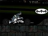 Темный рыцарь: гонка на мотоцикле