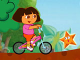 Дора: езда на велосипеде