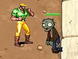 Боец против зомби