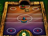 Джунгли: воздушный хоккей