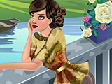 Мартовская девушка для обложки