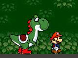 Марио и Йоши: быстрый бег