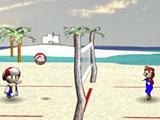 Пляжный волейбол Марио