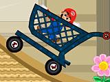 Марио в тележке