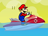 Марио на катере