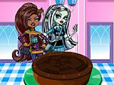 Школа монстров: шоколадный пирог