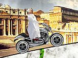 Папа Римский на мотоцикле