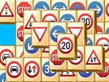 Дорожные знаки 2 - маджонг