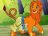 Король лев Симба - одевалки