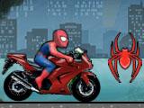 Мотогонка Человека Паука