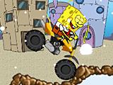 Губка Боб: снежный мотоцикл