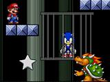 Супер Марио спасает Соника