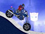 Трансформеры: езда мотоцикла