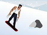 Росомаха-сноубордист
