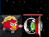 Angry birds: лазер