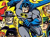 Бэтмен-супергерой: скрытые буквы
