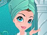Элементы макияжа ледяной принцессы