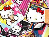 Hello Kitty: скрытые буквы