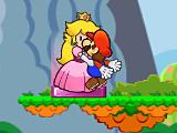Марио целует принцессу