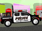 Полицейский грузовик