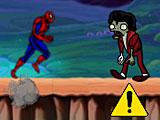 Спайдермен бежит от зомби 2