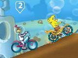 Губка Боб: гонки на велосипедах