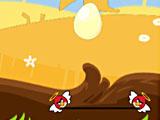 Angry birds: спасти яйца