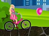 Барби: езда на велосипеде