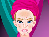 Барби: алмазный спа макияж