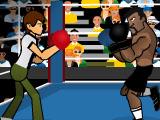 Бен 10 боксирует