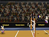 Волейбол олимпийских кроликов