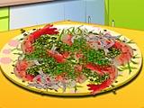 Кухня Сары креветки с чесноком и перцем