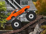 Прыгучий монстр-грузовик