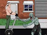 Самокат зомби
