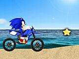 Соник: пляжная гонка