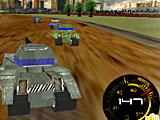 Гонка военных танков