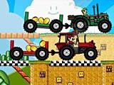 Тракторная драг гонка Марио