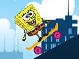 Губка Боб на скейте