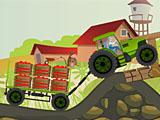 Езда трактора фермера Тэда
