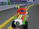 Реактивный грузовик 3Д