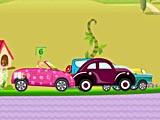 Барби: автомобильная гонка