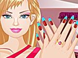 Барби: дизайн ногтей