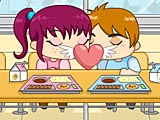 Поцелуй в кафетерии