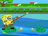 Губка Боб: переправа через реку